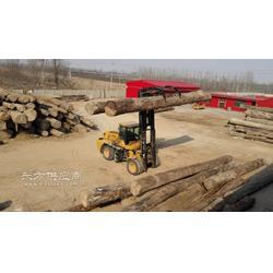 10吨木材越野叉车图片