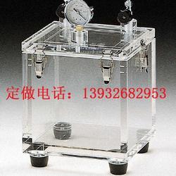 批量生产加工24mm有机玻璃防潮箱图片