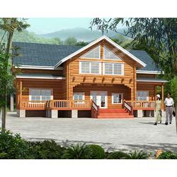 【万林木屋】(图),三门峡景区木屋,木屋图片