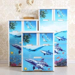 滑轮整理箱_家用收纳盒_收纳盒-银利日化图片