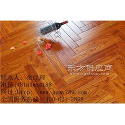 多层实木地板厂家 国泽地板图片