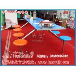 餐桌椅发货现场实拍图,食堂餐桌,折叠餐桌,连体餐桌椅生产厂家图片