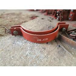 双孔短管夹-科正管道(在线咨询)双孔短管夹图片