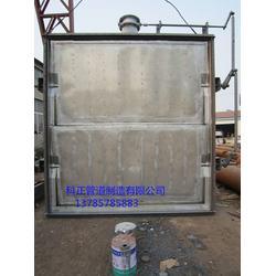 脱硫挡板门-科正管道-挡板门图片