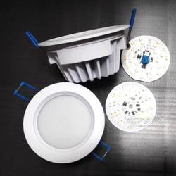 防眩目4寸压铸LED筒灯配件厂家图片