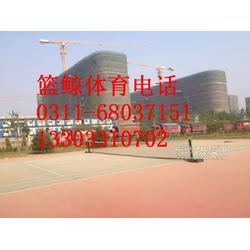 移动排球柱厂家箱体配重很安全图片