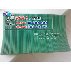 帝智厂家现货供应绿色防滑条纹橡胶垫绝缘胶垫图片