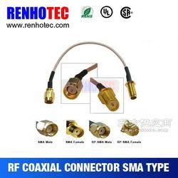 仁昊供应各类型SMA转接头 SMA接线连接器 SMA母转公连接器图片