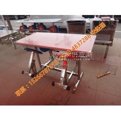 4人单个折叠不锈钢餐桌椅职工餐厅餐桌椅厂家 节省空间4人折叠餐桌椅图片