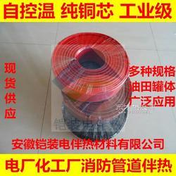 鎧裝ZBR電加熱帶105電伴熱線溫控加熱帶可調節電熱電纜屏蔽型伴熱帶圖片