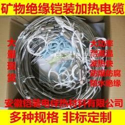 铠装厂家直销单芯双芯mi加热电缆,不锈钢伴热带,加热线,防水耐腐蚀图片