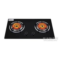 美炊A40聚能灶红外线燃气灶嵌入式钢化玻璃煤气双灶图片