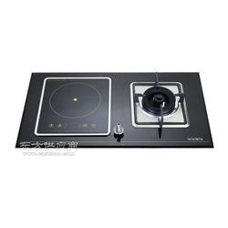 美炊AQ02 气电两用灶具电气双炉嵌入式家用电磁炉图片