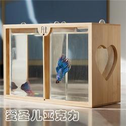 亚克力鱼缸生产厂家|西安亚克力鱼缸|有机玻璃鱼缸订制图片