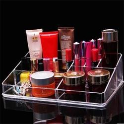 亚克力透明收纳盒订制,亚克力透明彩妆收纳盒订制,榆林收纳盒图片