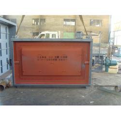 盘锦气密封挡板风门手动碳钢挡板式调节门_明通电力图片