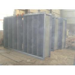 明通电力(图),0泄漏风焊接式电动方风门,电动方风门图片