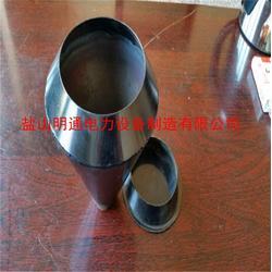 明通制造厂家-济南热镀锌87钢制雨水斗圆形排水漏斗图片