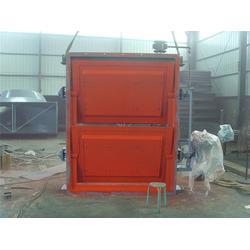 辽宁不锈钢电动挡板式隔离门,挡板式隔离门 明通电力图片