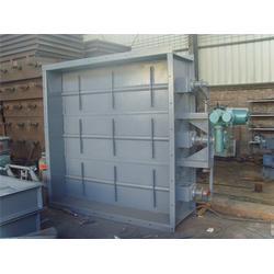 明通电力生产_辽宁GD087钢制烟道气动方风门严密可靠图片