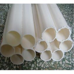 七孔塑料梅花管_雄展塑胶_贵州PE多孔管图片