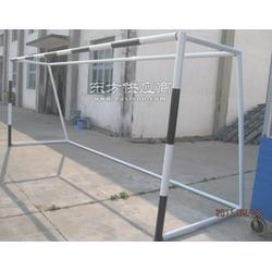 标准尺寸7人制足球门防护棚厂家零售图片