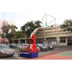 手动液压篮球架厂家 手动液压篮球架多少钱一副图片