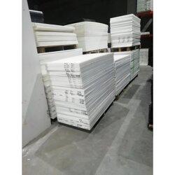 白色POM板 黑色POM赛钢板图片