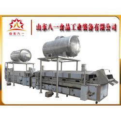 大型薯条薯片油炸生产线报价_山东八一图片
