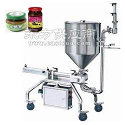 高速直线式麻椒酱灌装设备大颗粒可灌装 符合SC认证图片