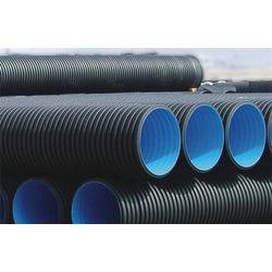 四川波纹排污管、领尚管道、hdpe波纹排污管图片