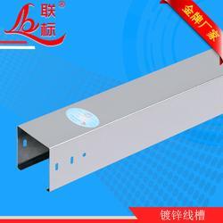 喷塑线槽-联标桥架公道-镀锌喷塑线槽供应图片