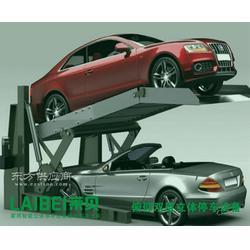 简易升降类家用立体车库解决方案 两柱四柱俯仰双层停车设备厂家图片