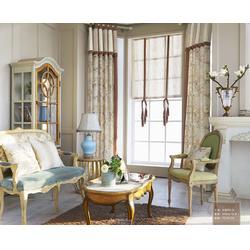 欧式窗帘厂家-茶山欧式窗帘-卧室落地窗帘图片
