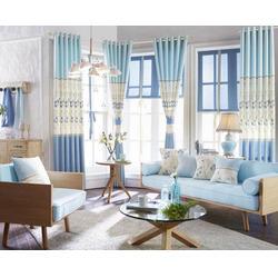 平开窗帘加工厂-东城平开窗帘-益盟纺织用品(查看)图片