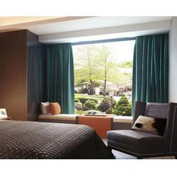 益盟纺织用品(在线咨询)、斜窗窗帘、斜窗窗帘公司图片