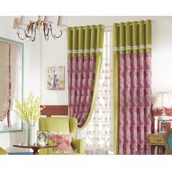 益盟、客厅窗帘哪家好(图),客厅窗帘公司,生产客厅窗帘图片