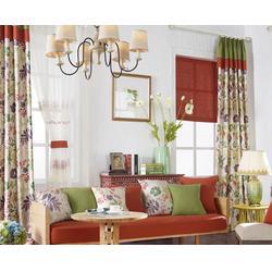 益盟、短款窗帘多少钱 短款窗帘厂家-厂家短款窗帘图片