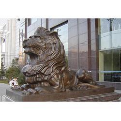 大型铜狮子铸造厂家-赣州铜狮子-妙缘铜雕厂图片