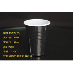 安徽黑色塑料酒杯_诸城万瑞塑胶_供应黑色塑料酒杯图片