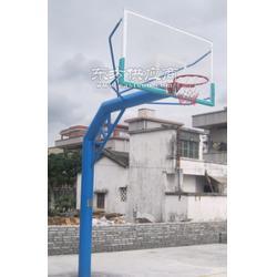 热镀锌方管固定透明板篮球架,便宜篮球架图片