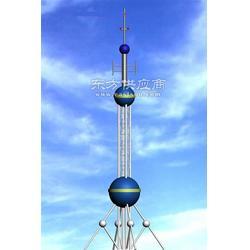 楼顶通讯工艺铁塔厂家布告图片