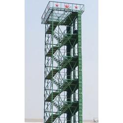 钢木结构消防训练塔10层图片