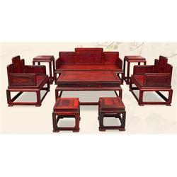 北京大红酸枝顶箱柜|御乾堂红木质量上乘图片