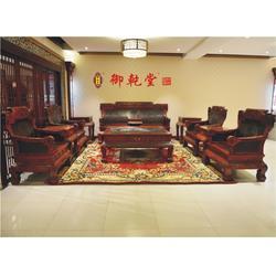 广东大红酸枝电视柜-御乾堂红木品质之选图片