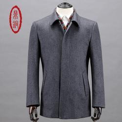 男士纯羊绒大衣_鼎铜服饰(在线咨询)_纯羊绒大衣图片