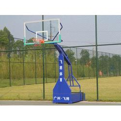 液压电动比赛篮球架_天河区比赛篮球架_飞将体育图片