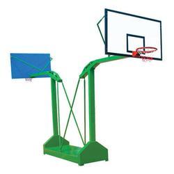 美凯龙文体|移动式单臂方管篮球架|移动式单臂方管篮球架报价图片