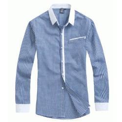 龙岗工厂衬衫定做衬衫、宝安定做衬衫、诗洛衣(查看)图片