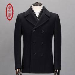 新款羊毛大衣-羊毛大衣-鼎铜服饰图片